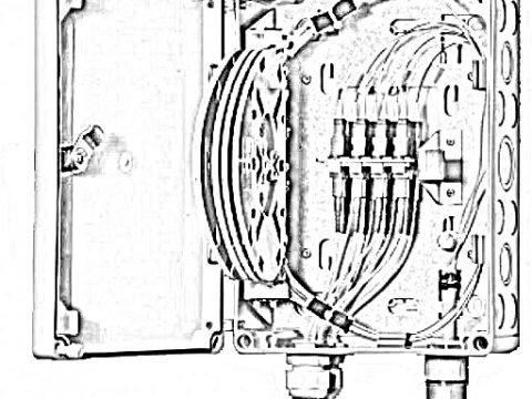 optical fiber termination box